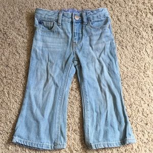 Baby GAP Boot Cut Jeans, size 12-18 months